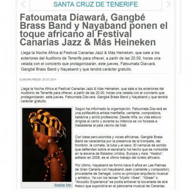 Fatoumata Diawará, Gangbé Brass Band et Nayaband