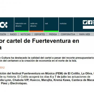 El mejor cartel de Fuerteventura en Música